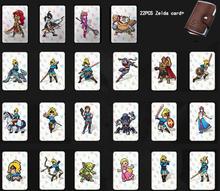 Amiibo NFC 215 TAG Game Cards For Botw Switch Zelda Breath Wild Super Mario Smash Cart Bros Odyddey Splatoon 2 Kriby Ultimate