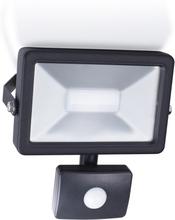 Smartwares LED-strålkastare med sensor 30 W svart SL1-B30B