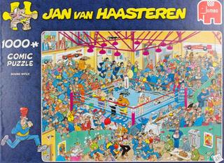 Jan Van Haasteren Pussel Boxningsmatch 1000 Bitar