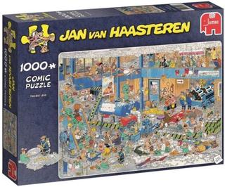 Jan Van Haasteren Pussel Den stora läckan 1000 Bitar