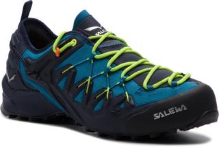 Trekking-skor SALEWA - Wildfire Edge 61346-3988 Premium Navy/Fluo Yellow