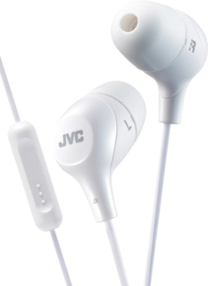 JVC Marsmallow In-Ear Mic White