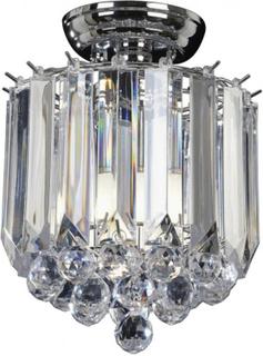 Fargo loftslampe Ø23 cm 2 x E14 - Krom/Klar