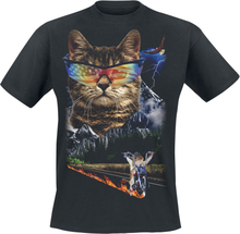 Goodie Two Sleeves - Meow For Freedom -T-skjorte - svart