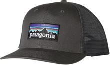 Patagonia P-6 Logo Trucker Hat Herre kapser Grå OneSize