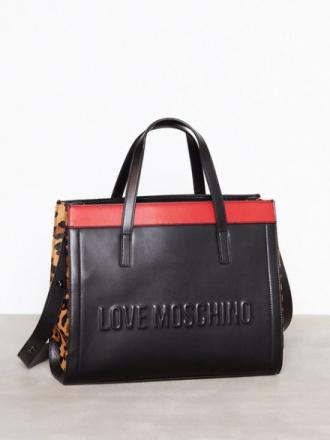 Håndvesker - Svart Love Moschino JC4137PP16LX1