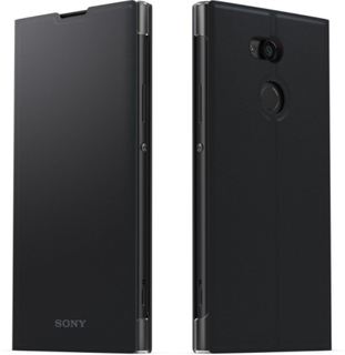 Sony Style Cover Stand til Sony Xperia XA2 Ultra - Sort