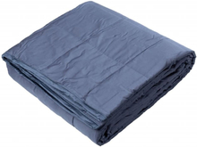 Beckasin Tyngdtäcke 7 kg Grå Bomullssatin – Fritt från polyester