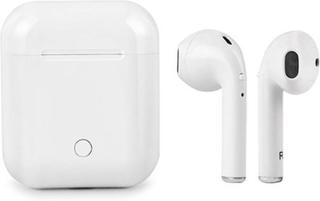 I9S - Trådlösa Bluetooth In-Ear Hörlurar med små snäckor (Vit)