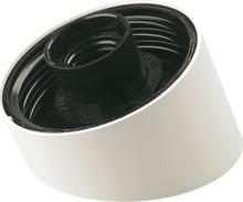 Armatursockel Jo-El Vinklad Plast Vit 120070