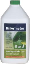 Sanitetsprod Nitor Saneringsvätska Natur 2,5l
