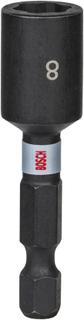 Hylsnyckel Bosch Pick and Click Impact Control 1/4 inch 8mm