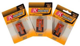 3 stk 9V batterier - Bestasstist batterier