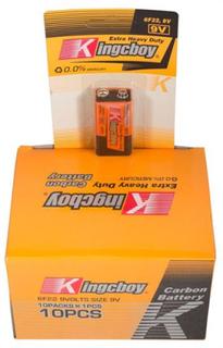 10 stk 9V batterier - Bestasstist batterier