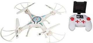 Fjernstyret Drone med WiFi - 35 cm i diameter - Hvid