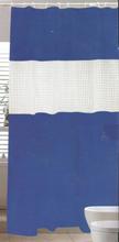Badeforhæng - Blå - 180x180 cm.