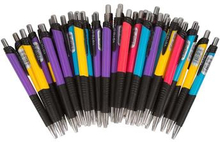 Kuglepenne - Pakke med 40stk - forskellige farver