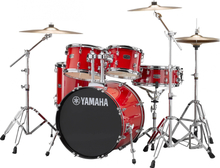 Yamaha Rydeen Studio drumset - with stands and cymbals - Hot Red
