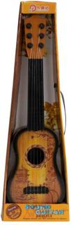 Legetøjs Guitar - 43 cm lang - trælook