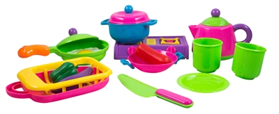 Kjøkkensett til barn- Med 18 deler
