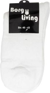 Tennis strømper - Pakke med 12 par - Hvid - str. 40-43