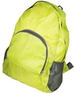 Foldbar rygsæk - Vandafvisende - Lime grøn - 15 liter