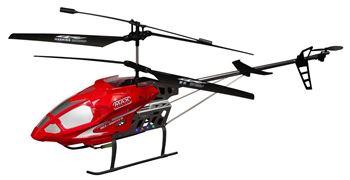 Fjernstyrt helikopter - 90 cm lang - Rød