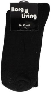 Tennis strømper - Pakke med 12 par - Sort - str. 43-46