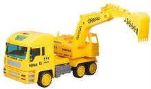 Legetøjs lastbil med gravko - 38 cm i længden