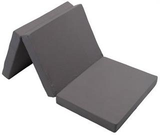 Foldemadras - 70 x 190cm - Højde 8 cm - Perfekt som gæstemadras