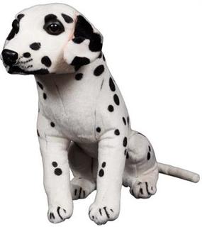 Dalmatiner hund tøjdyr - Super god kvalitet - 35 cm høj