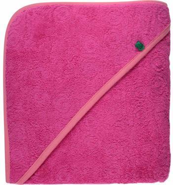 Badehåndklæde - 70x140cm - Freds World - Pink - Økologisk bomuld - Home-tex