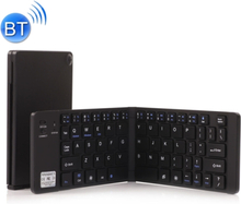 Foldbart Bluetooth Tastatur - Sort