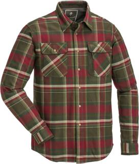 Pinewood Men's Cornwall Shirt Herre langermede skjorter Grønn XL