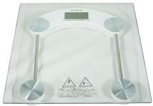 Badevægt med glasplade - max 180 kg.