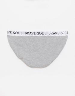 Brave Soul 3 Pack Waistband Briefs-Multi