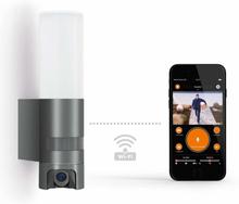 Intelligent sensor udendørs LED-væglampe L 600 Cam