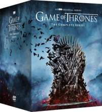 Game of Thrones - Complete Collection - Kausi 1-8 (38 disc)