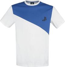 Playstation - -T-skjorte - hvit, blå