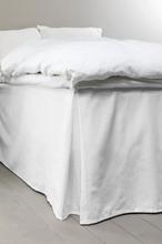 COLOUR sängkappa 60 cm - ekologisk Vit