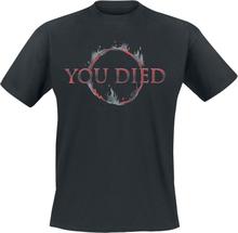 Dark Souls - You died -T-skjorte - svart