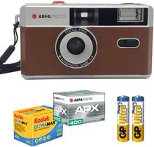 AgfaPhoto Analog 35mm Startkit Brun, AgfaPhoto