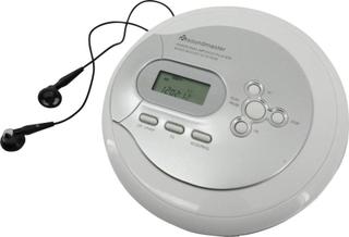 soundmaster CD9180 Bärbar CD-spelare CD, CD-R, CD-RW, MP3 Silver, Vit