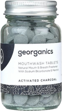 Georganics Mouthwash Tablets Activated Charcoal 180 stk