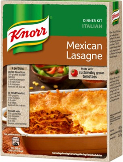 Knorr Mexicansk Lasagne Mix 250 g