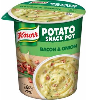 Knorr Snack Pot Kartoffelmos med Bacon & Løg 58 g