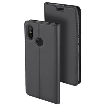 Dux Ducis Skin Pro Xiaomi Mi A2 Lite Flip Taske - Mørkegrå