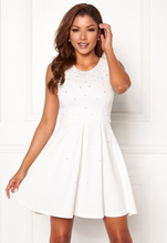 Chiara Forthi Marla pearl dress White 40
