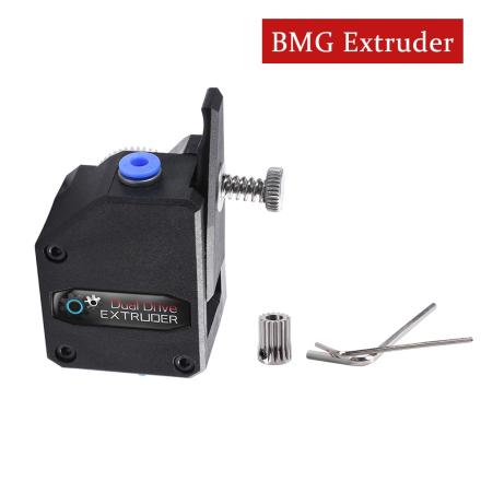 3D Printer Parts BMG Extruder Cloned Btech Dual Drive Extruder Bowden Extruder Filament Dual Gear For 3D Printer CR10 MK8 Reprap