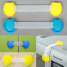 Baby Safety Door ABS Locks Safety Drawer Drawer Lock Children Furniture Sets 10 Pcs Protective Locks Long Short Style